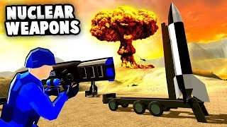 NUCLEAR WEAPONS Destroy Enemy Base! Nuka Zooka Commando Raid! (Ravenfield Best Mods)