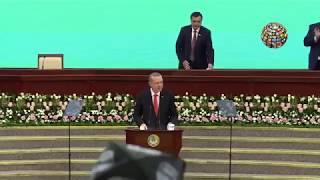 Erdoan o iiri okudu zbekistan Parlamentosu otu