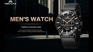 Megalith Mens Designer Watch New for 2019