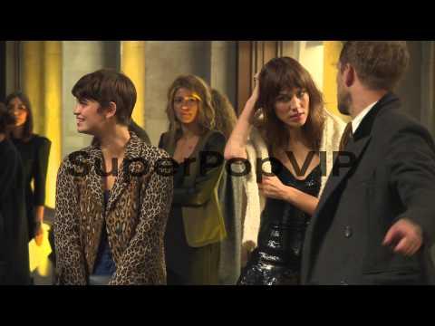 B-ROLL - David Gandy, Jade Parfitt, Pixie Geldof, Alex Ch...
