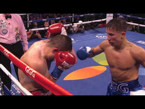 Gennady Golovkin vs. Marco Antonio Rubio Highlights: HBO World Championship Boxing