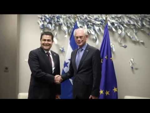 Meeting with the President of Honduras