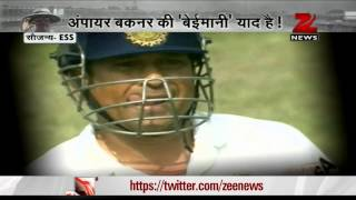 Umpiring errors: Wrong decisions against Sachin Tendulkar