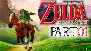 Ocarina of Time (Deutsch) | Pt. 01 | The Legend of Zelda: Ocarina of Kyle