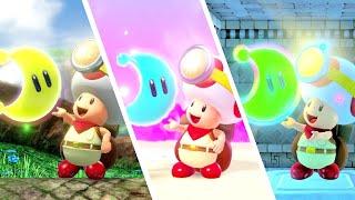 All Super Mario Odyssey Levels in Captain Toad: Treasure Tracker