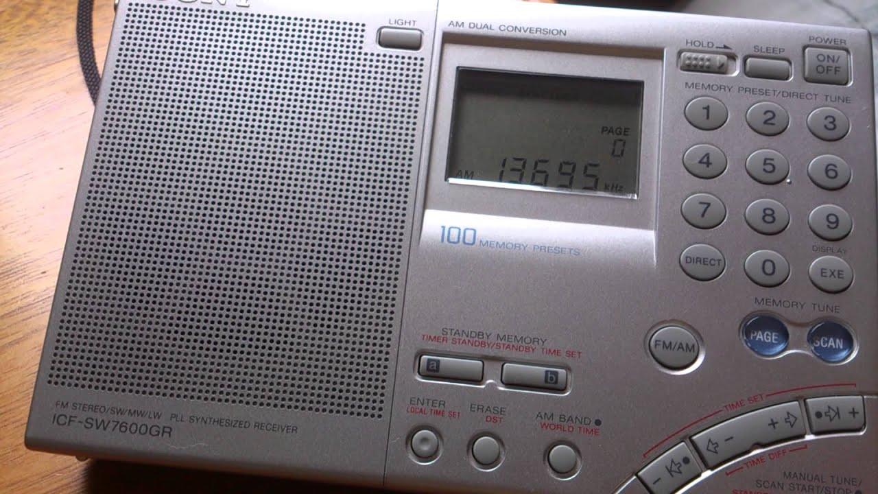 Радиоприёмник Sony ICF-SW76 GR в магазине
