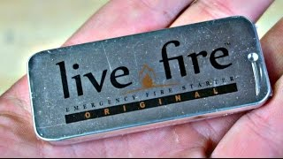 """""""Live Fire Starter"""" put to the TEST"""
