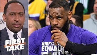Failure to land Anthony Davis puts pressure on Lakers this summer Stephen A | First Take