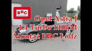 Opel Astra J 1.4 Turbo 140kM montaż BRC od ARG Auto Gaz Łódź