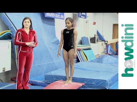 Gymnastics tips: Back twisting with Dominique Moceanu
