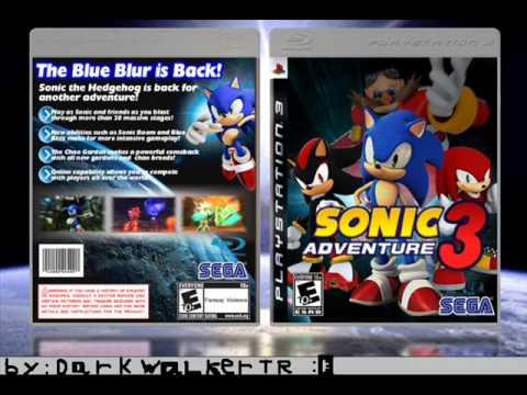 New Sonics Logo Sonic Adventure 3 my New Logo