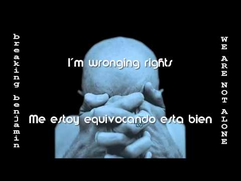 Breaking Benjamin - 2004 - We Are Not Alone - 10 - Believe Lyrics Sub Eng/Esp
