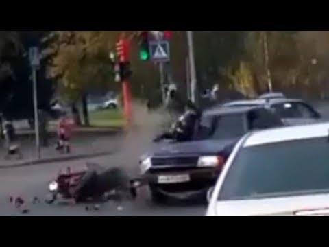 Жесткие аварии и ДТП 2017 №26
