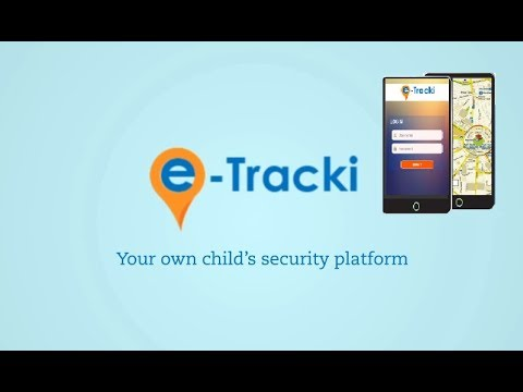 ETracki -Bus/Child Tracking System.