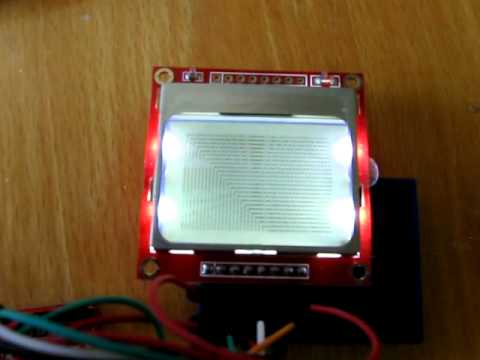 Arduino and LCD Nokia 3310