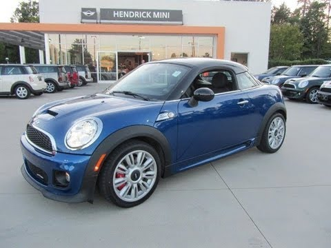 2012 Mini Cooper Coupe John Cooper Works Start Up, Exhaust, and In Depth Tour