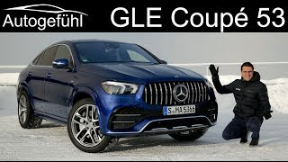 all-new Mercedes GLE Coupé 53 AMG FULL REVIEW - Autogefühl