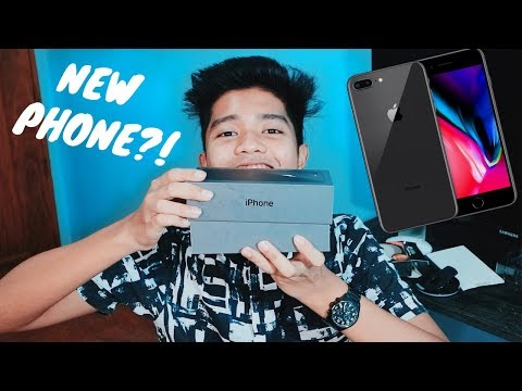 NEW PHONE UNBOXING!! IPHONE 8 PLUS SPACE GRAY (PHILIPPINES) | 2018