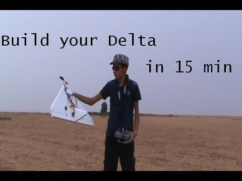 How to build rc delta plane in 15min .