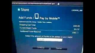 Top Up your PSN wallet with Mobile Credit