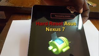 How to Hard Reset the Nexus 7