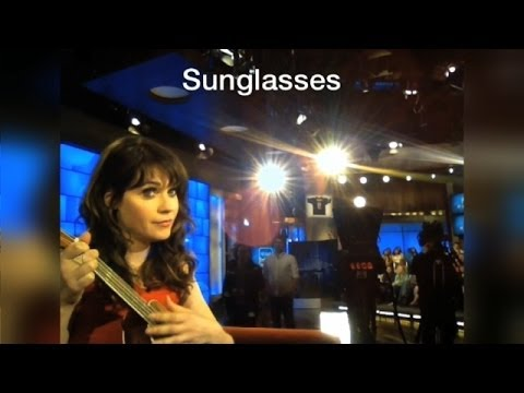 Heads Up! Zooey Sings for Ellen