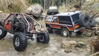 Redcat gen8 Toyota Hilux Truggy and Trx4 Trailing Adventure