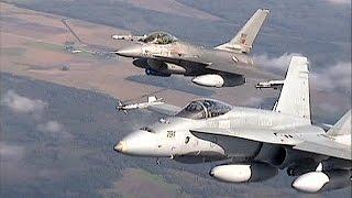 NATO Intercept Russia Military Aircraft Above Baltic Sea
