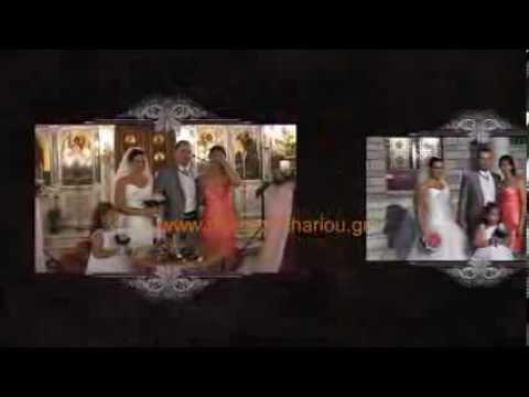 WEDDING VIDEO CLIP AGIA BARBARA ILION   XRHSTOS & NATASA