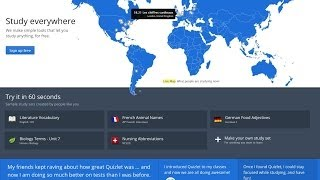 Quizlet Virtual Flashcards 2014 Tutorial