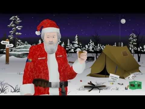 Праздничное обращение Санта Клауса