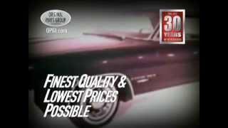 OPGI Pontiac GTO, Grand Prix and Bonneville/Catalina Restoration and Performance Parts