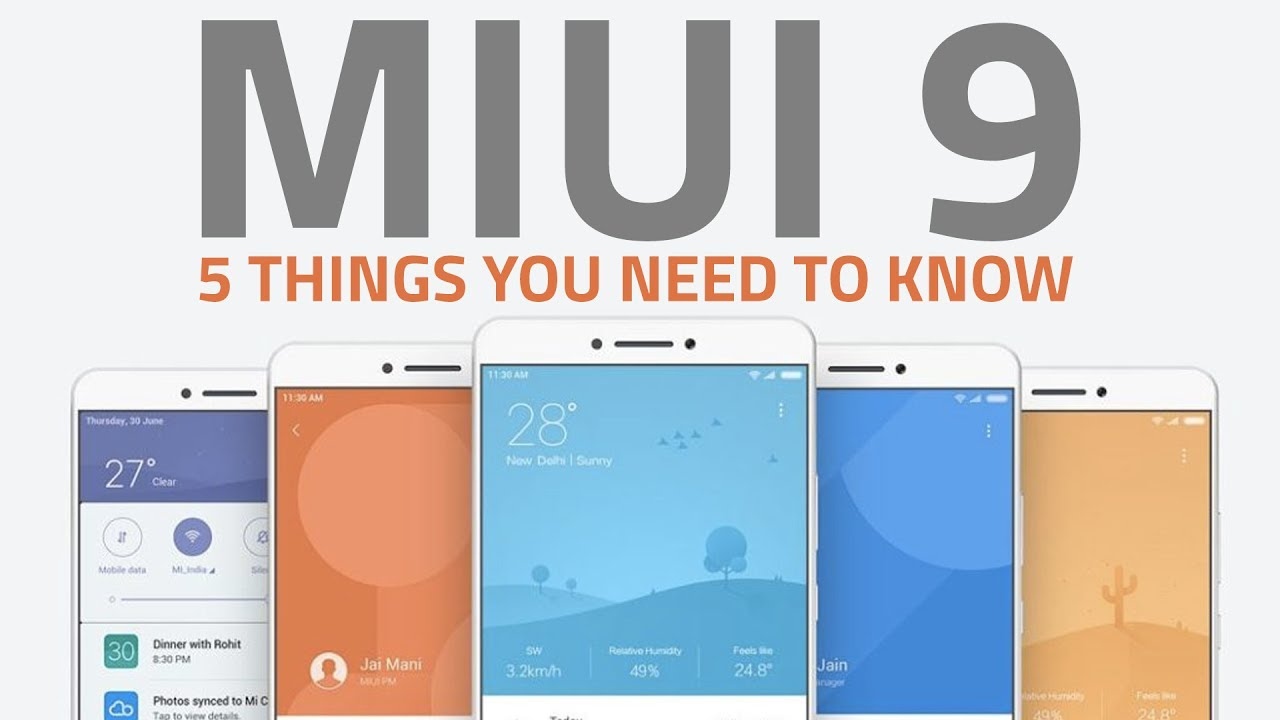 MIUI 9 | 5 New Features You Should Expect