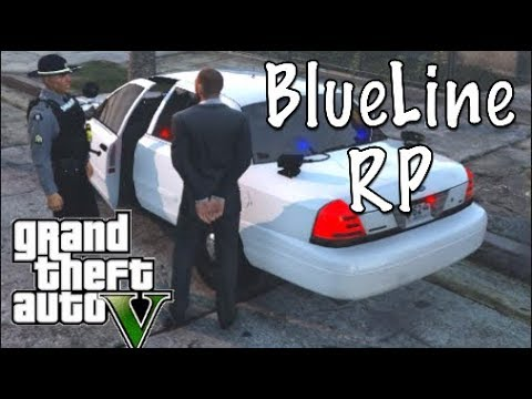 GTA 5 FiveM BlueLine RP We Kidnap A Police Officer!