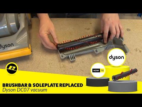 dyson dc07 clutch belt replacement instructions