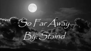 Watch Staind So Far Away video