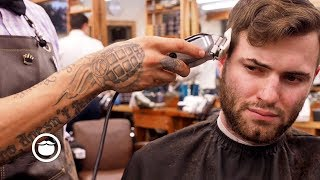 My First Haircut in 5 Months   South Austin Barber Shop