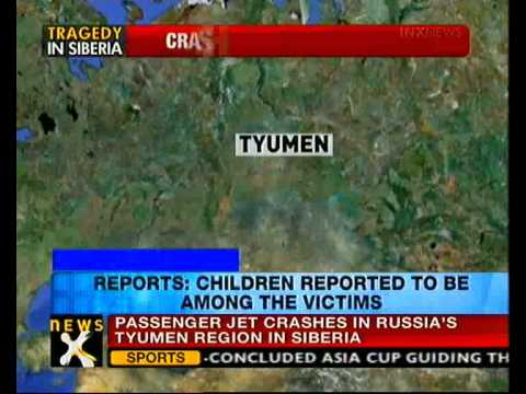 Plane crashes in Siberia with 43 people aboard - NewsX