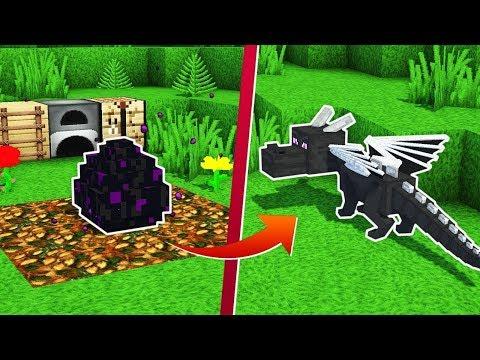 МАЛЫШ ДРАКОН ЭНДЕР ~ МАЙНКРАФТ ДРАКОН МОД - Как Сделать Призвать Дракона Обзор Мода - Minecraft mods