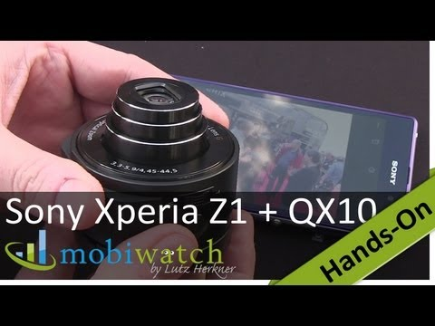 Hands-On: Sony Xperia Z1 And SmartShot Cameras QX10 + QX100