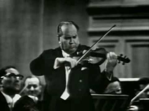 David Oistrakh plays Tchaikovsky Concerto (1st Mov.) Part 1