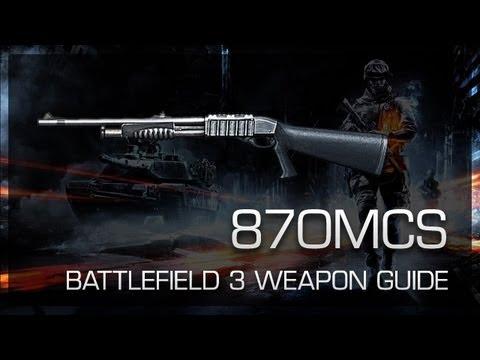 870MCS : Battlefield 3 Weapon Guide, Gameplay & Gun Review