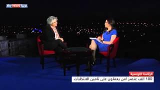 أرملة بلعيد تتحدث عن انتخابات تونس