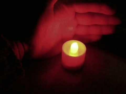 Электронная свеча.