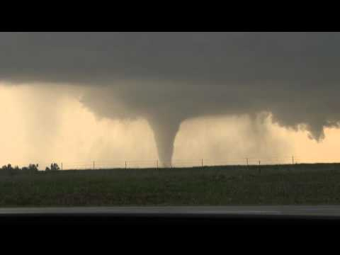 4/14/12 Storm Chase and N.E. of Salina, KS Tornado