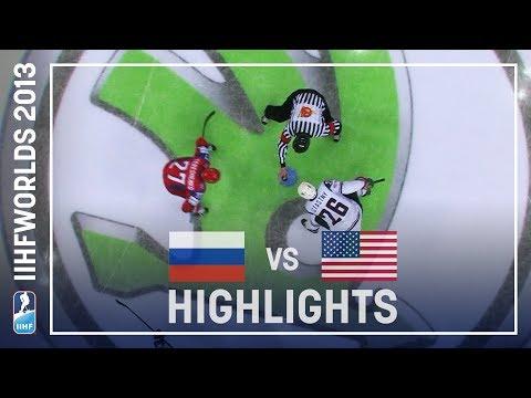 Russia - Usa 3-8