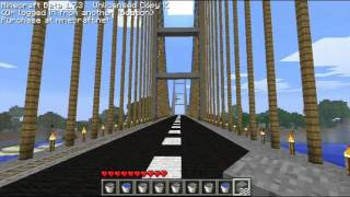 My buildings in Minecraft - bridge / Moje budowle w minecraft - most