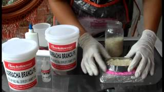 Artesanato - Como fazer moldes de silicone (passo a passo e dicas)