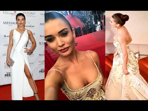 Cannes Red Carpet 2017 - Amy Jackson Hot Looks