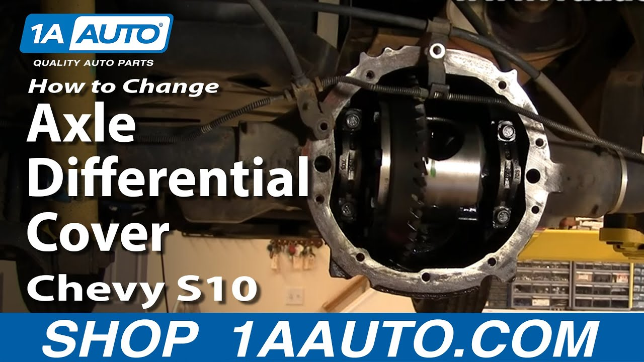 1aauto Auto Repair Change Rear Axle Differential Cover Oil